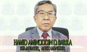 Hon. HAMID AMINODDIN D. BARRA